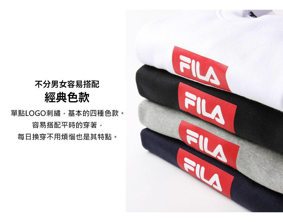 【FILA】方格LOGO運動衫 6