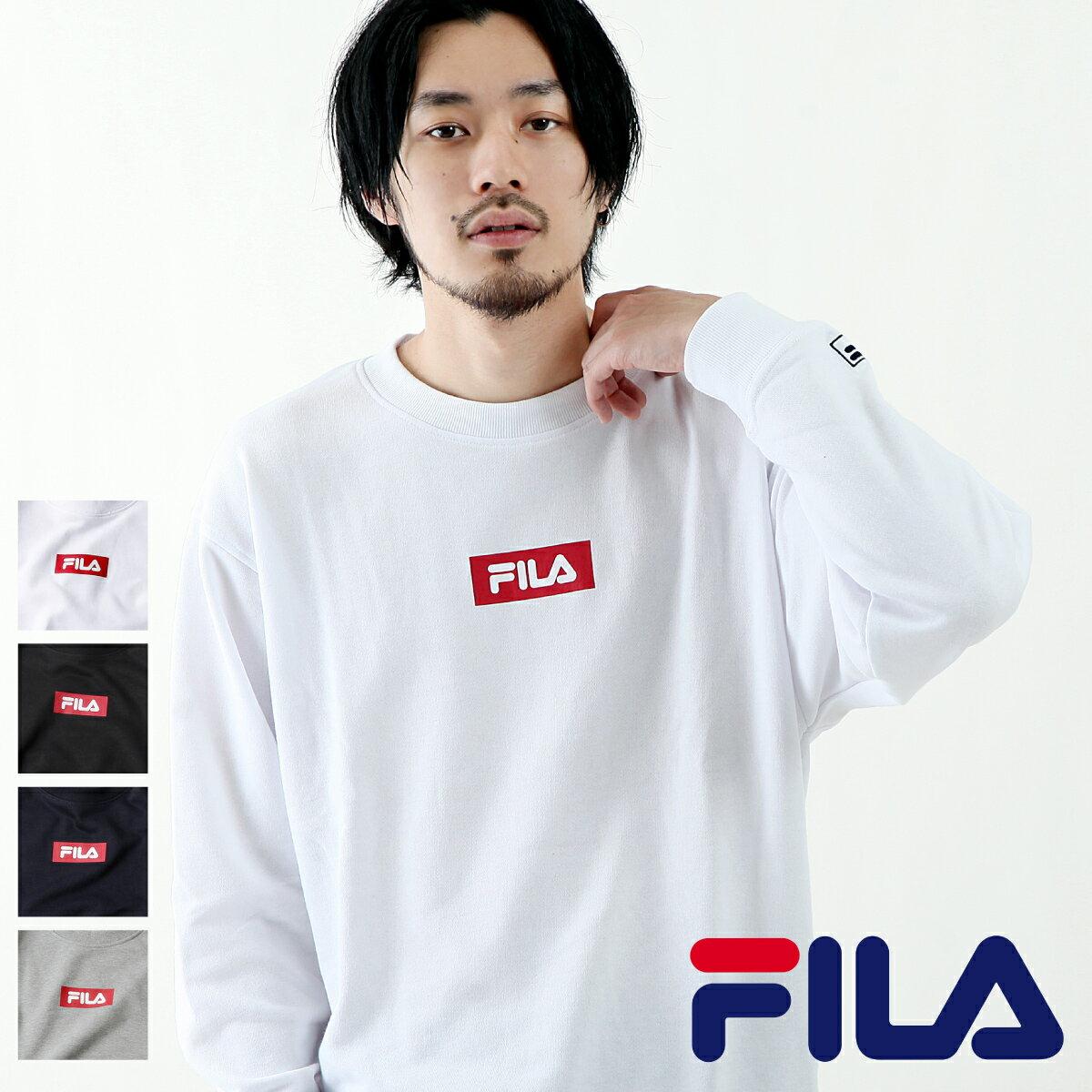 【FILA】方格LOGO運動衫 0