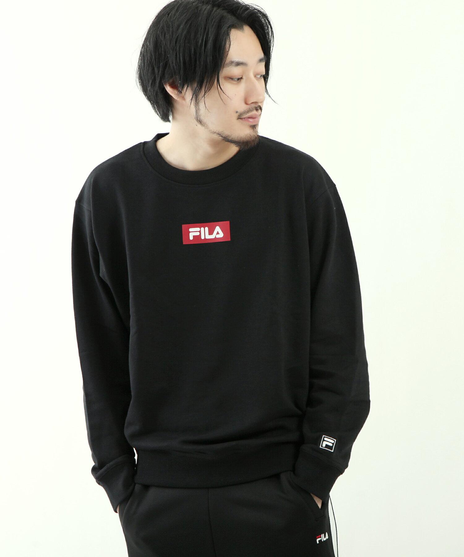 【FILA】方格LOGO運動衫 2