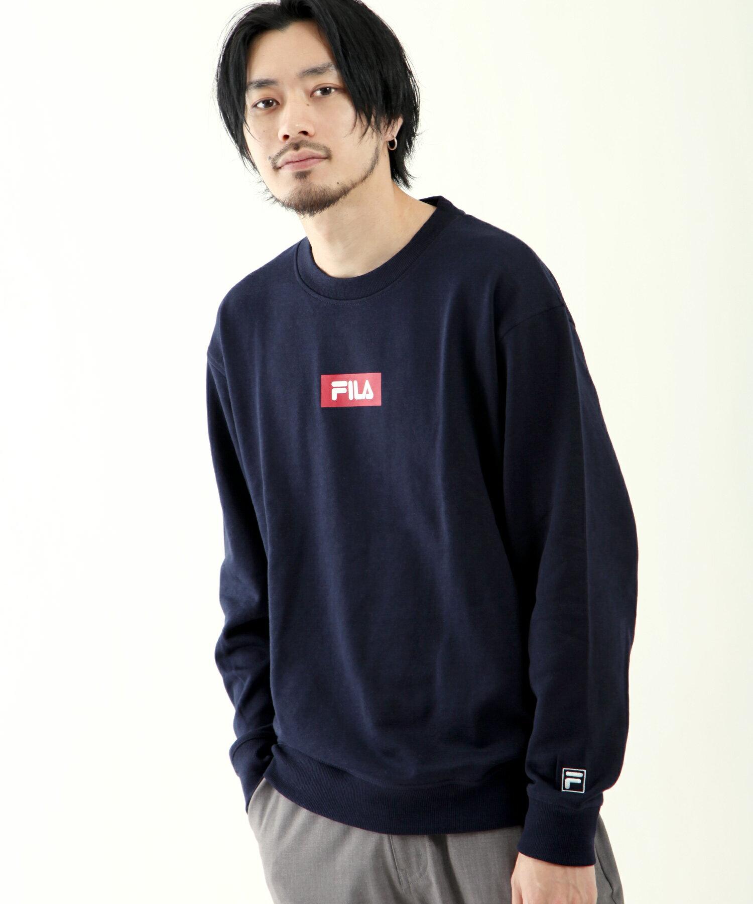【FILA】方格LOGO運動衫 3