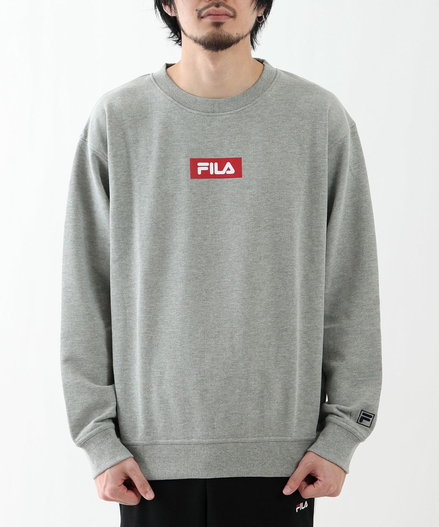 【FILA】方格LOGO運動衫 1