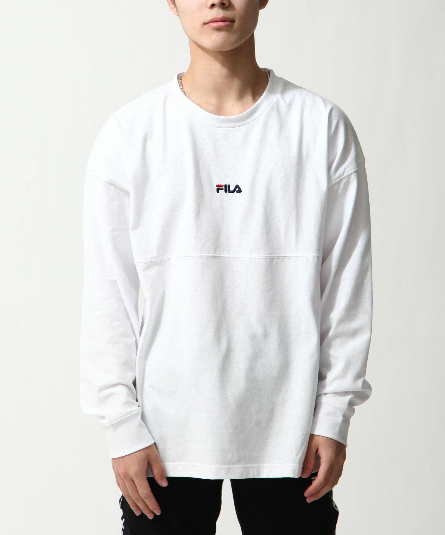 【FILA】背面印字LOGO長袖T恤 2