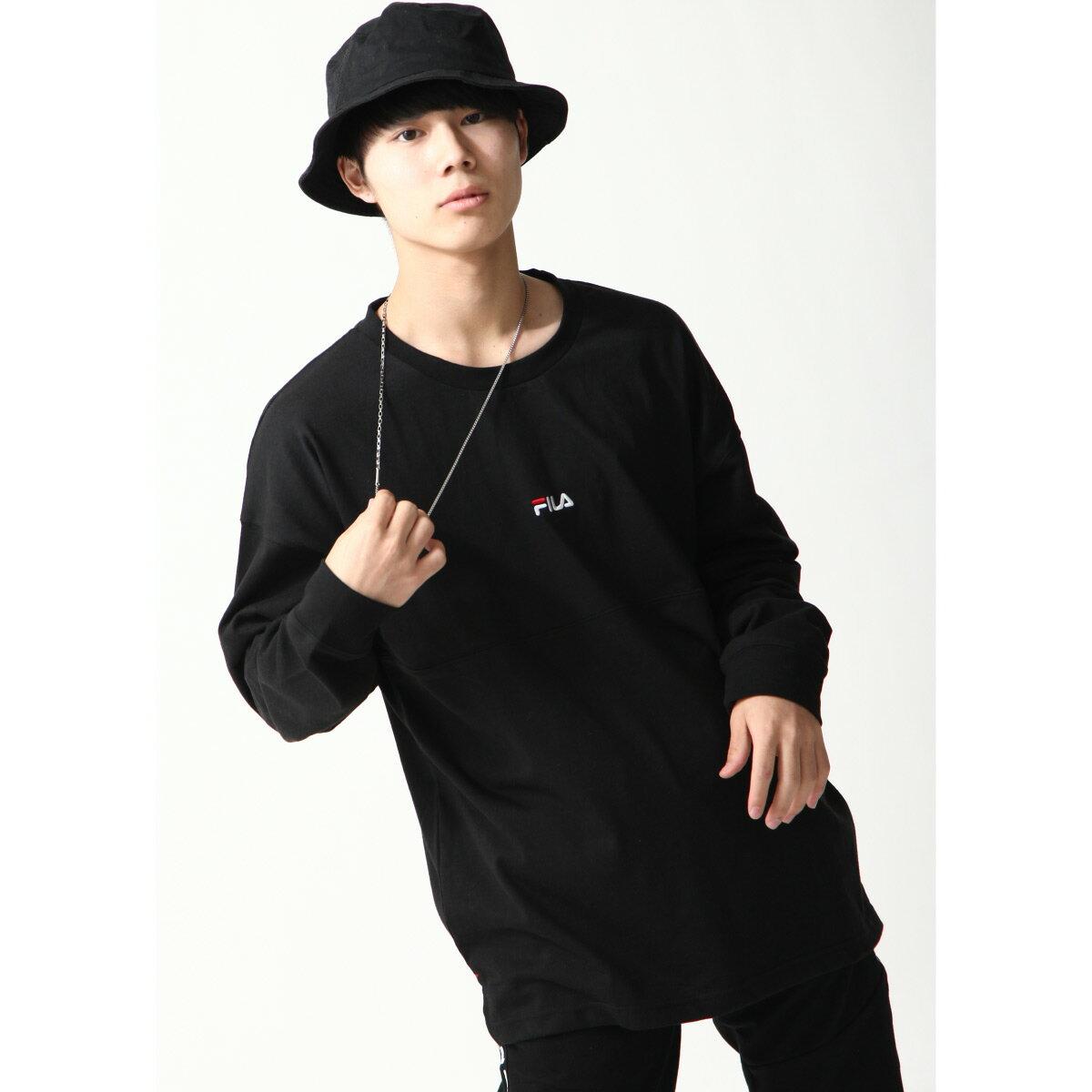 【FILA】背面印字LOGO長袖T恤 6