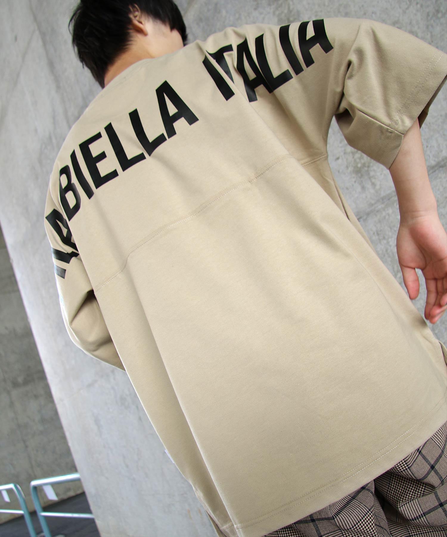 【FILA】背面印刷寬版短袖T恤 OVERSIZE 3