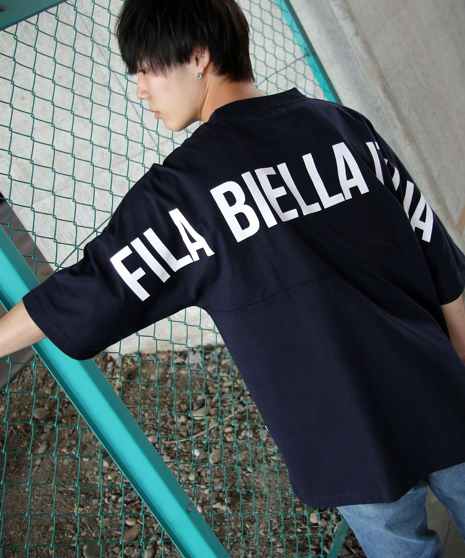 【FILA】背面印刷寬版短袖T恤 OVERSIZE 4