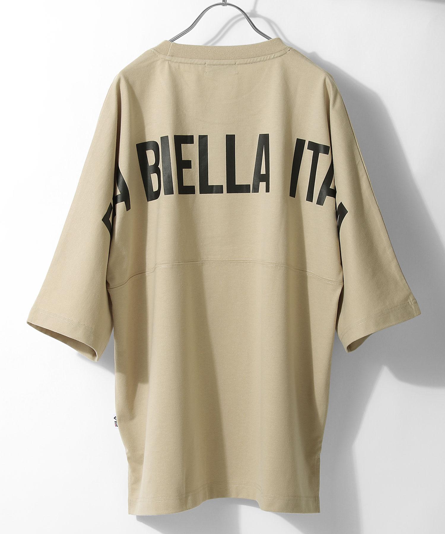 【FILA】背面印刷寬版短袖T恤 OVERSIZE 2