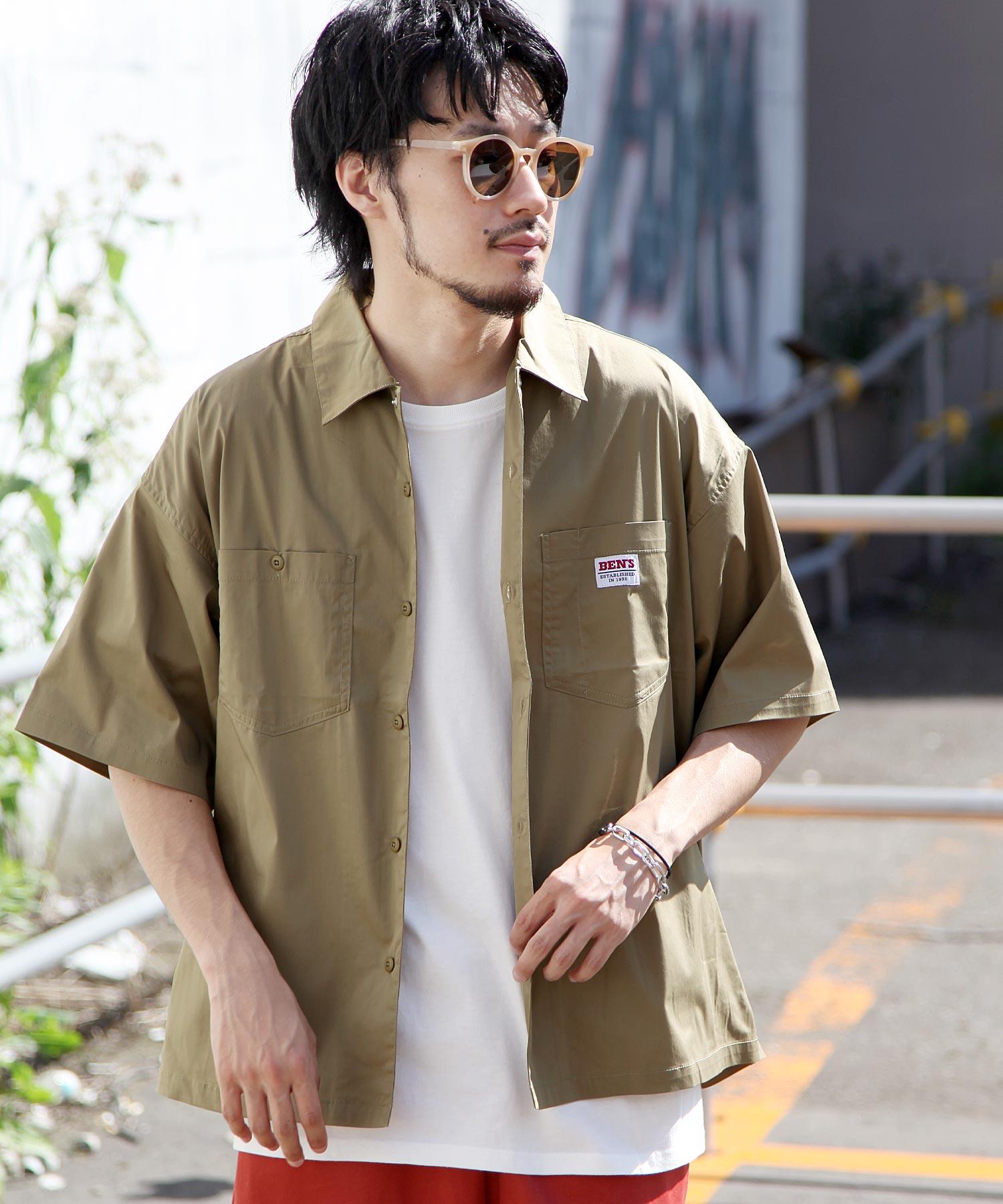 【BEN DAVIS】寬版工裝襯衫 4
