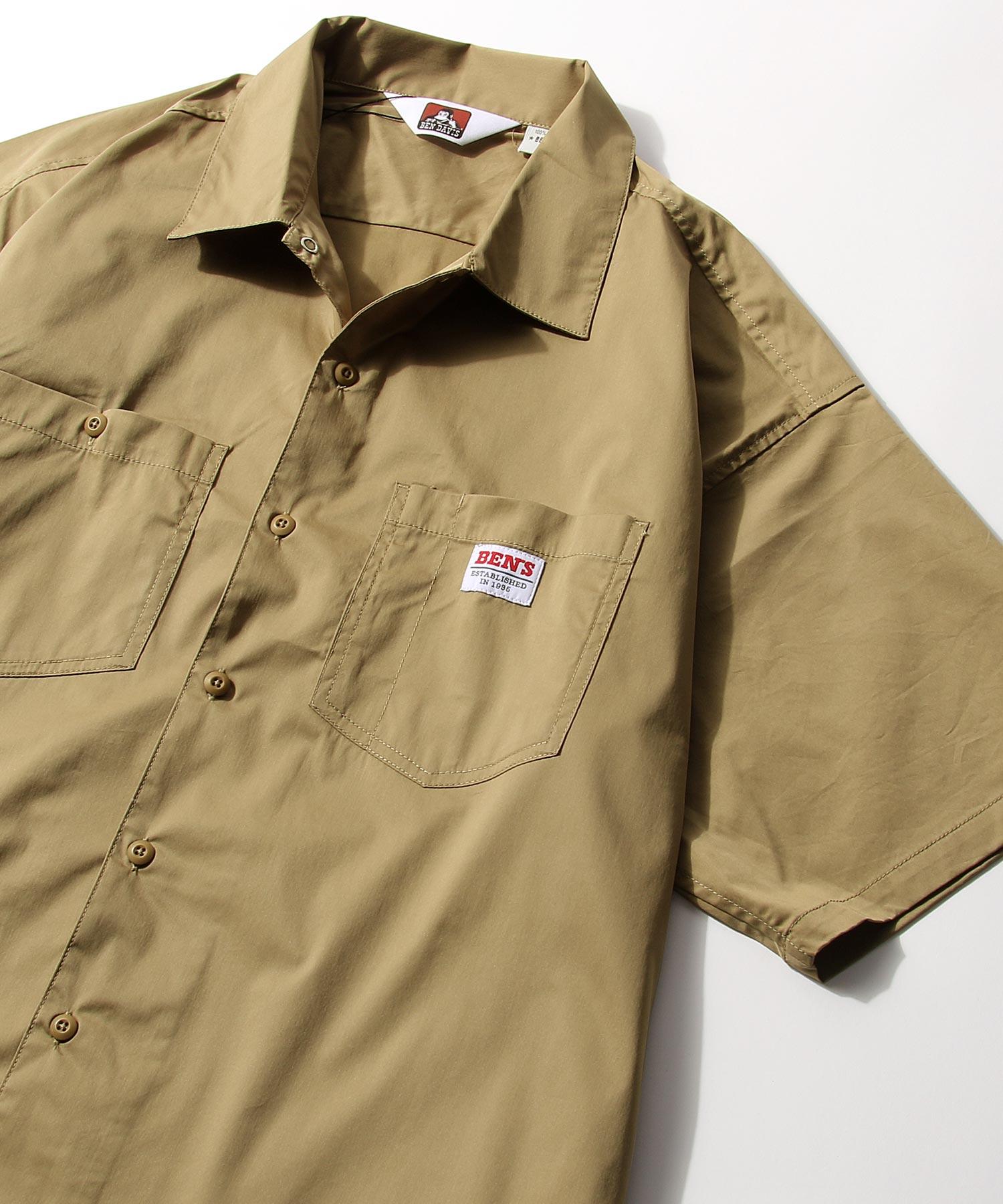 【BEN DAVIS】寬版工裝襯衫 3