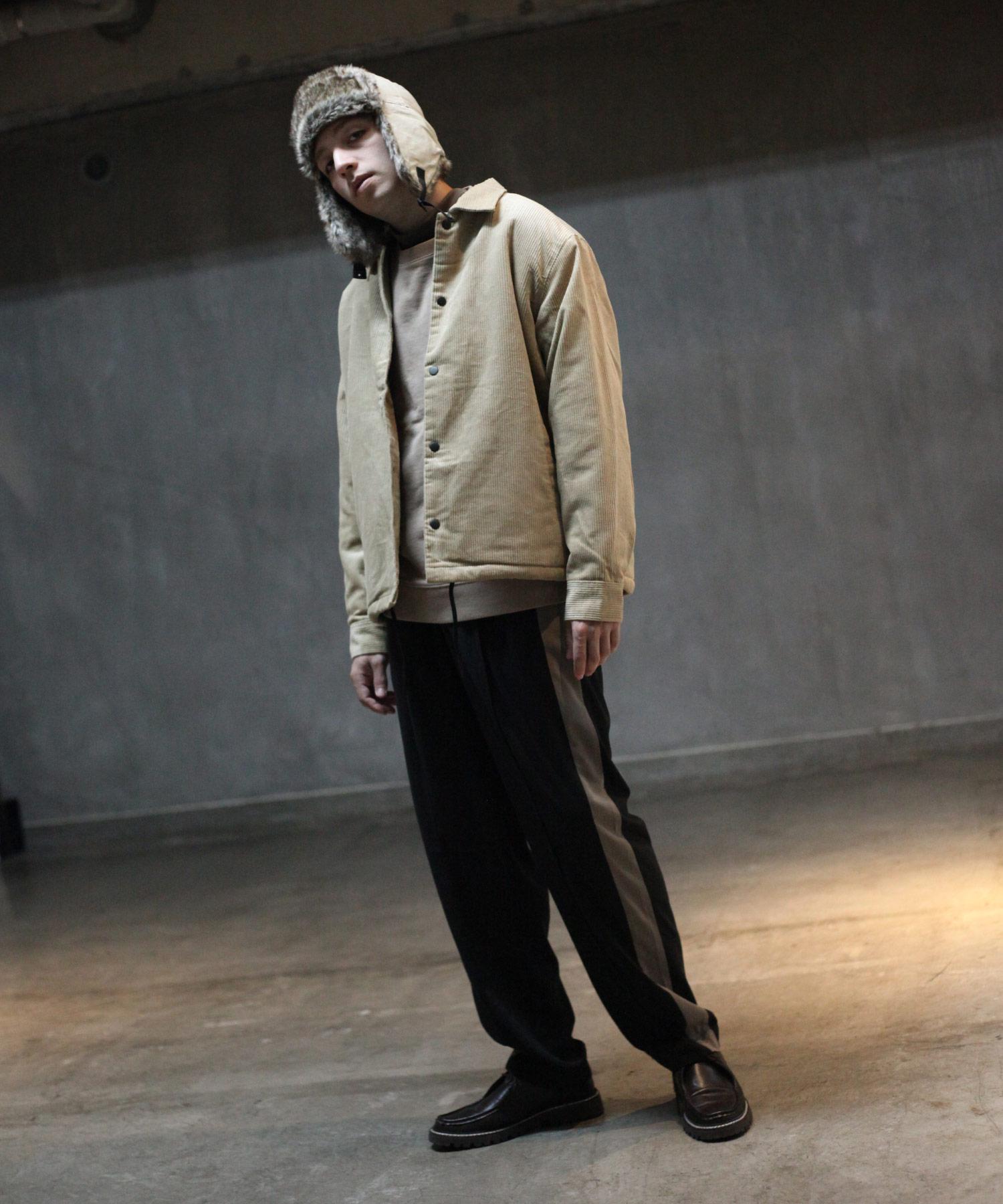 【Nilway】燈芯絨教練外套 內刷毛 5