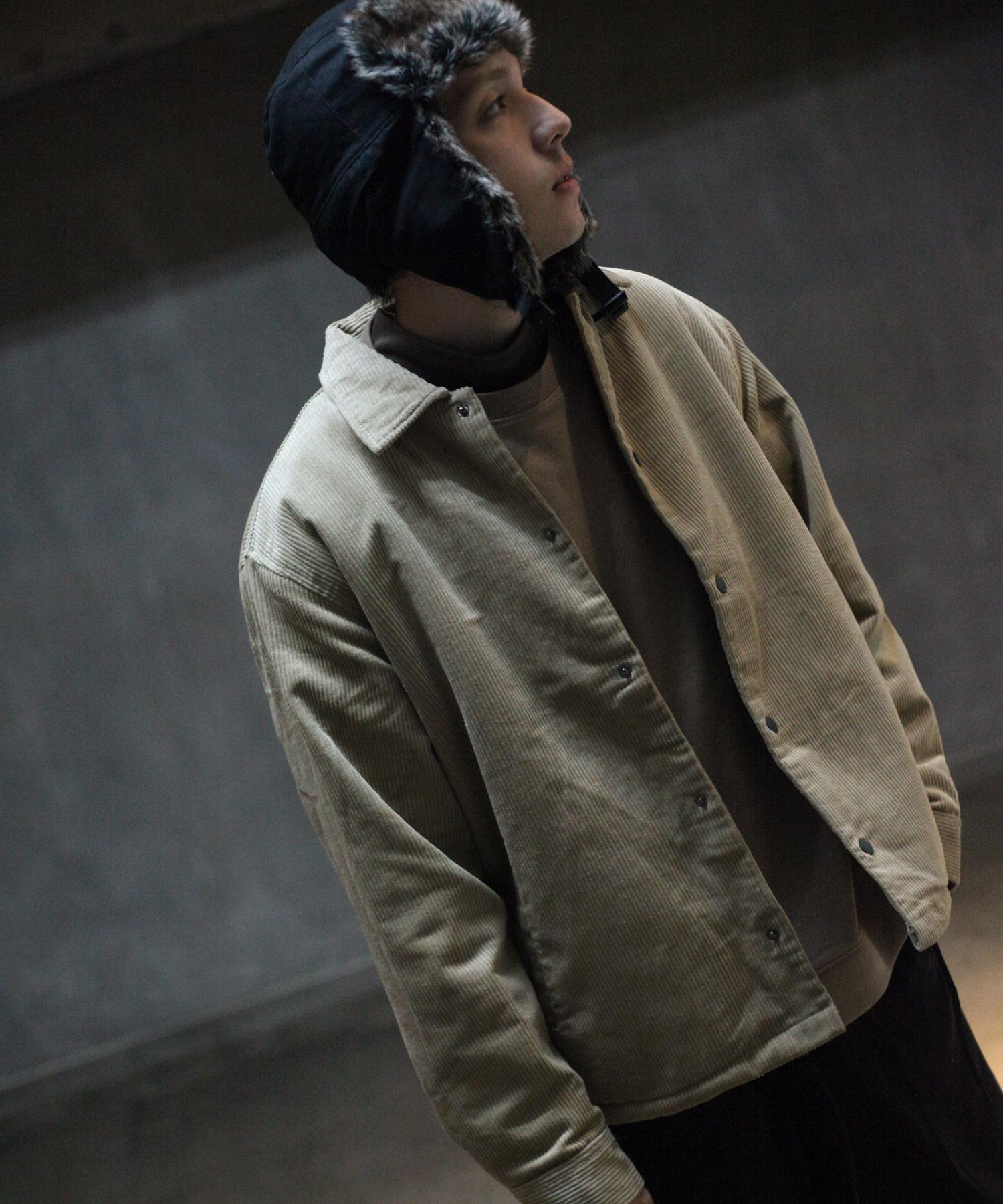 【Nilway】燈芯絨教練外套 內刷毛 6