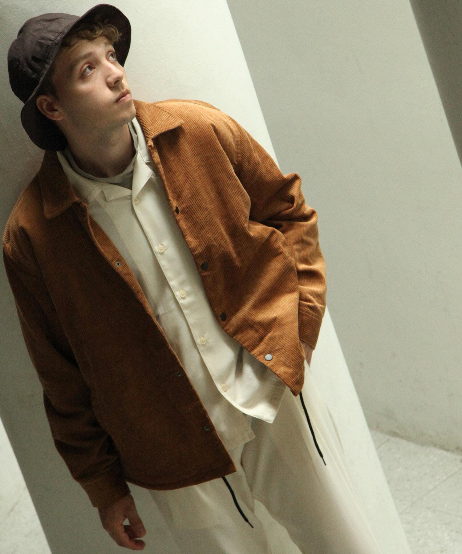 【Nilway】燈芯絨教練外套 內刷毛 7