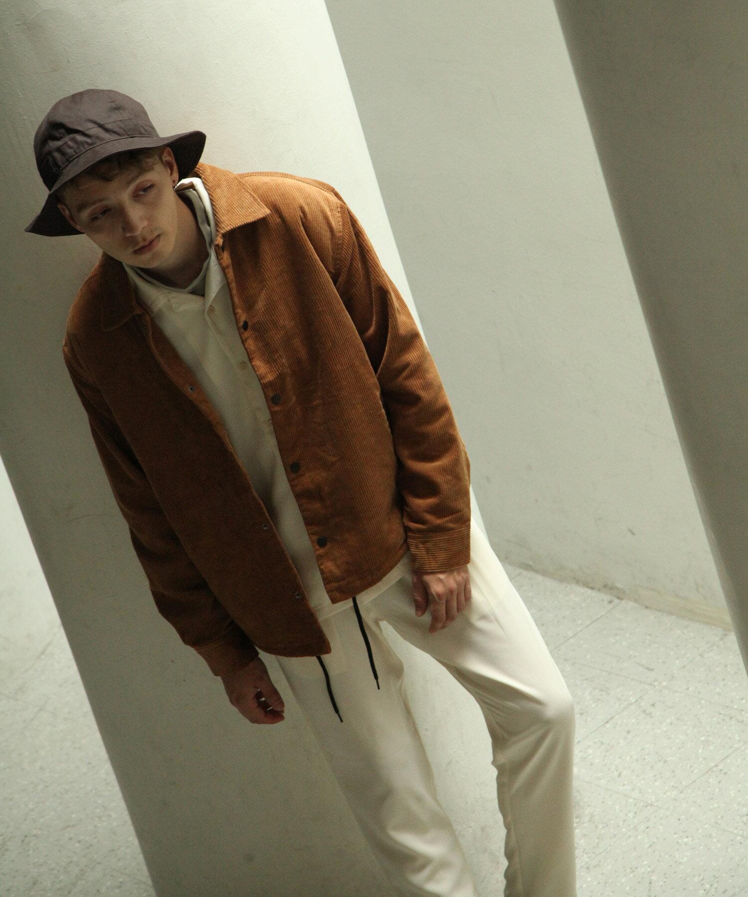 【Nilway】燈芯絨教練外套 內刷毛 8