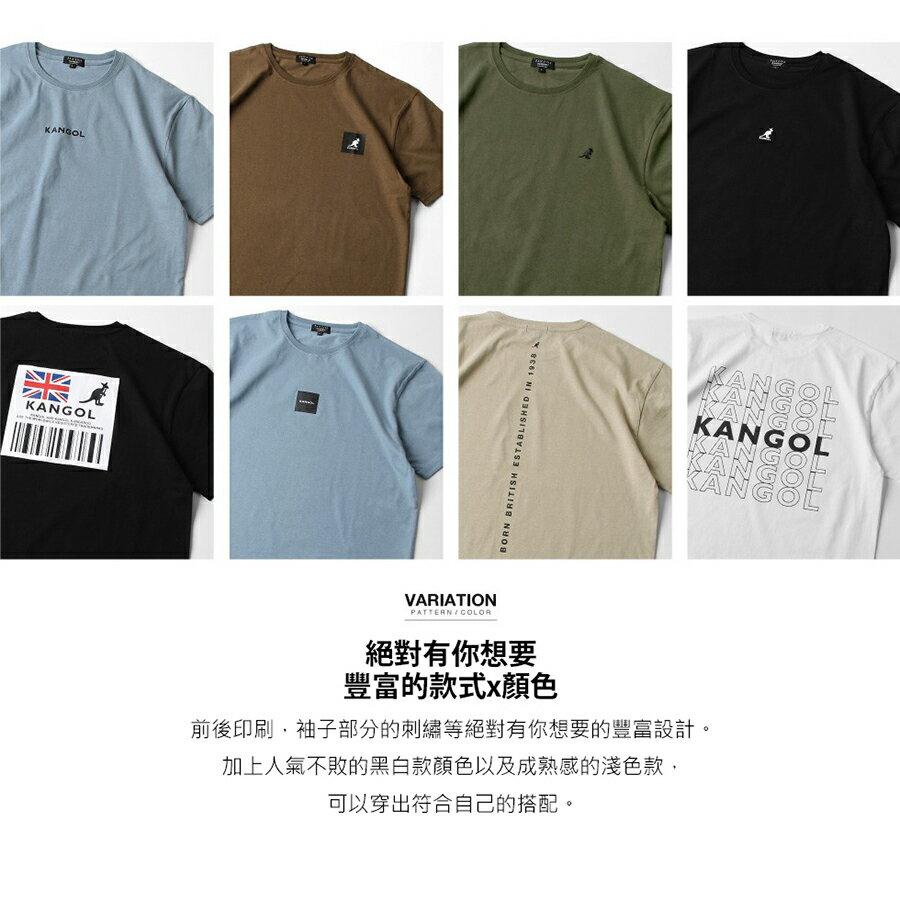 【APP領券再九折】KANGOL 純棉T恤 聯名款 (L-XL) 5