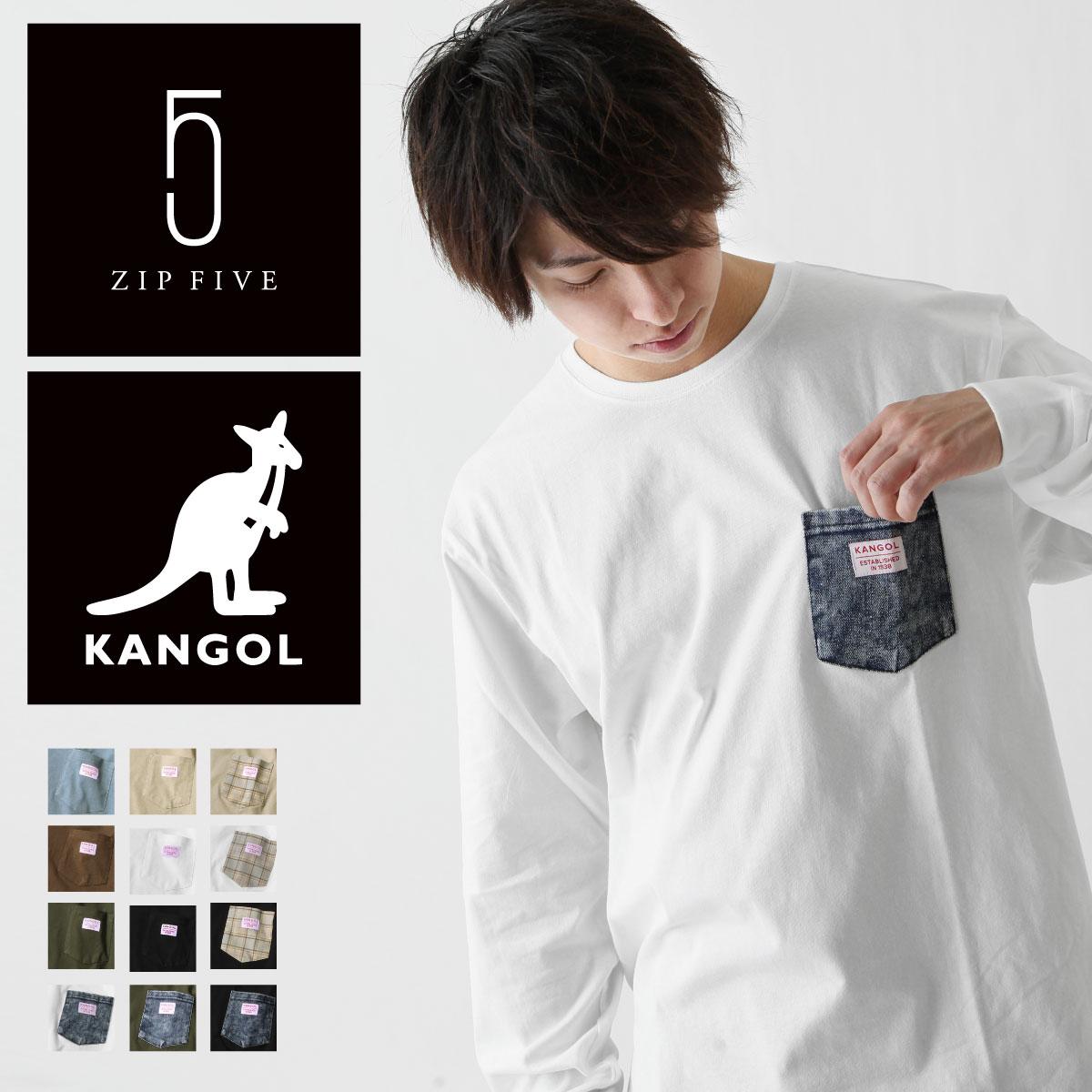【New】KANGOL  長袖T恤 0