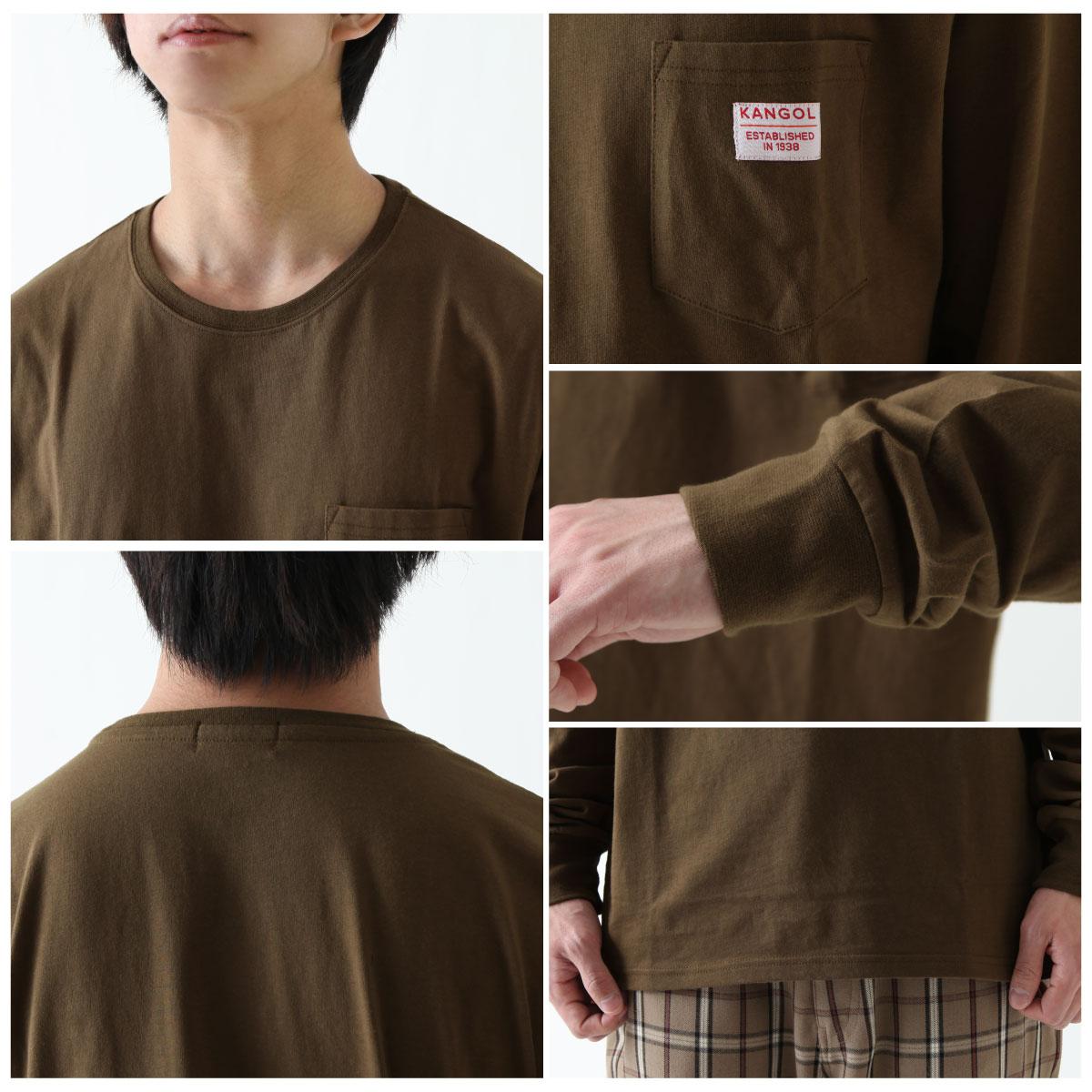 【New】KANGOL  長袖T恤 3