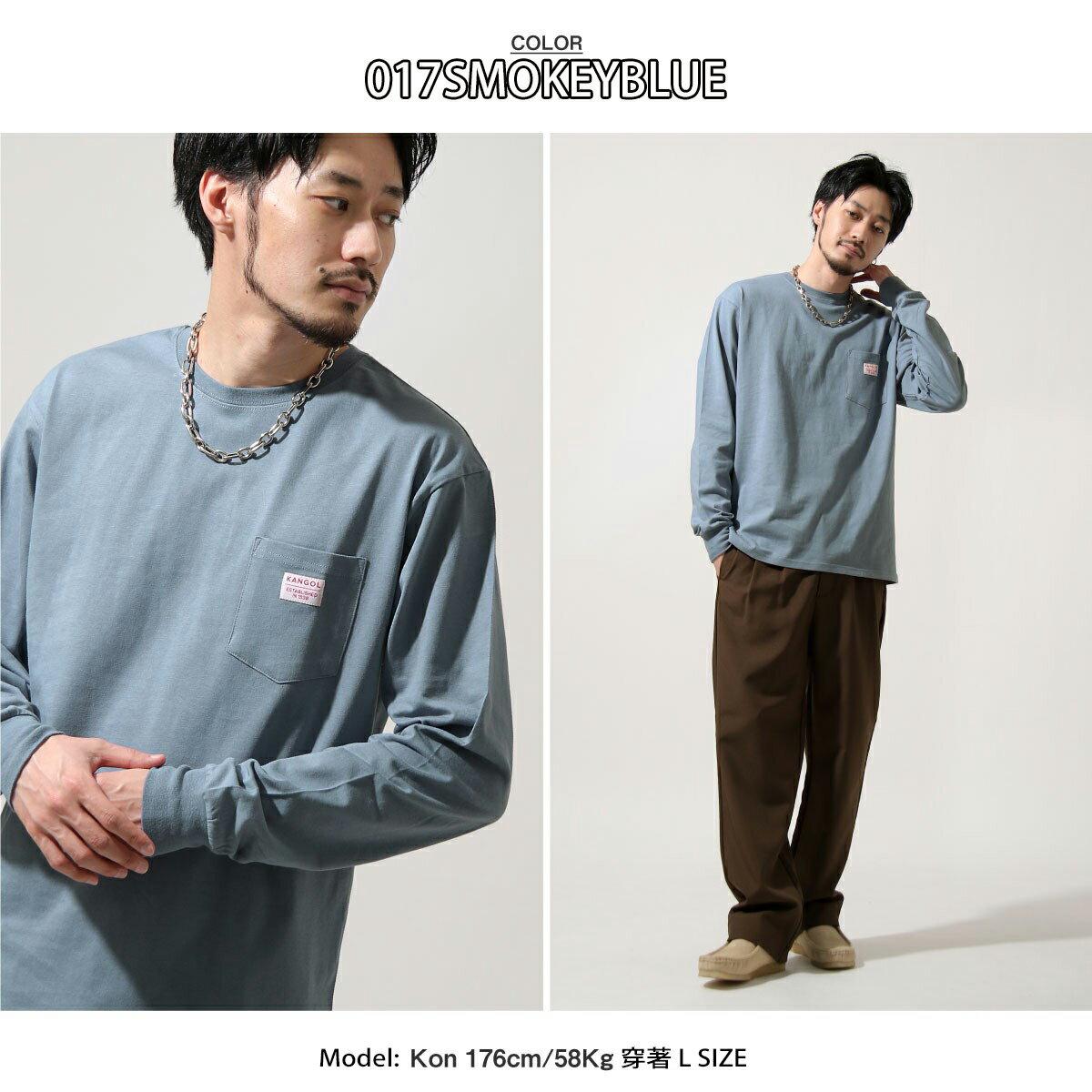 【New】KANGOL  長袖T恤 1