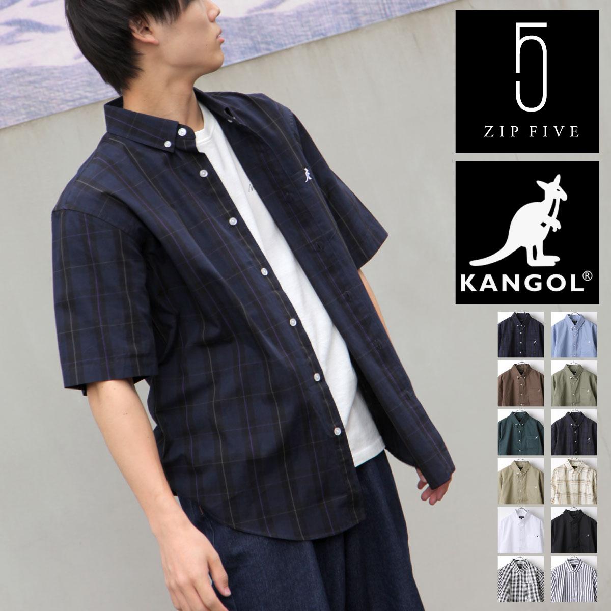 KANGOL短袖襯衫 特注款 KANGOL 袋鼠 0