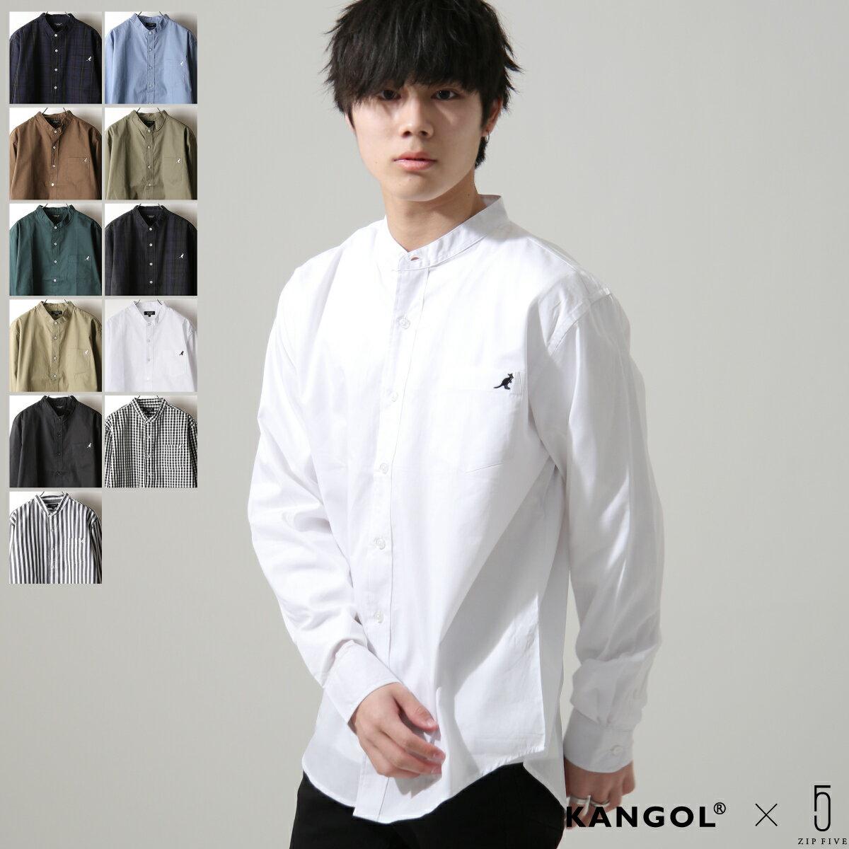 【New】KANGOL 立領襯衫 特注款 0