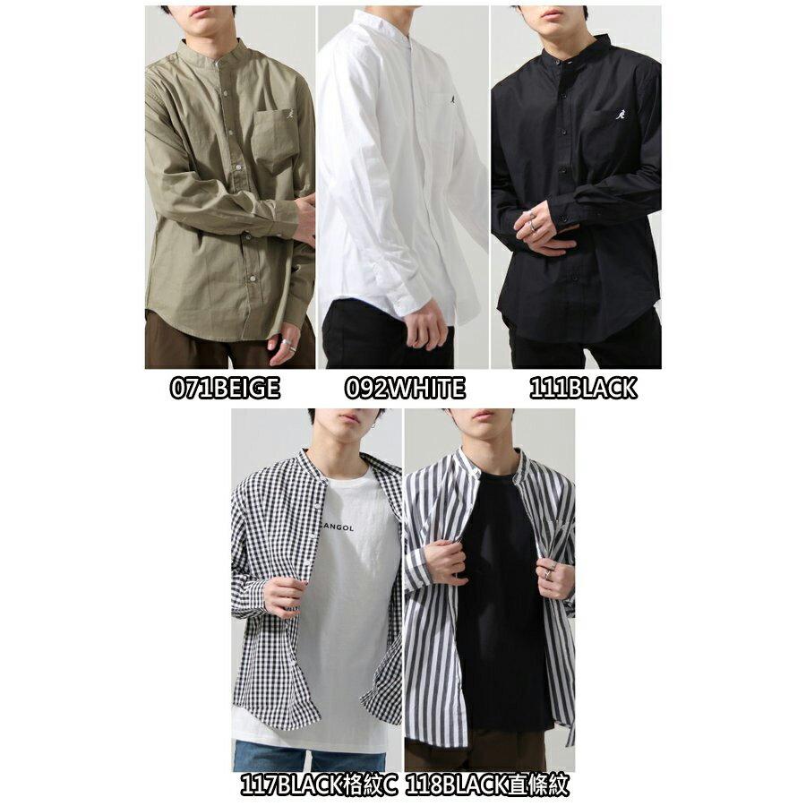 【New】KANGOL 立領襯衫 特注款 1