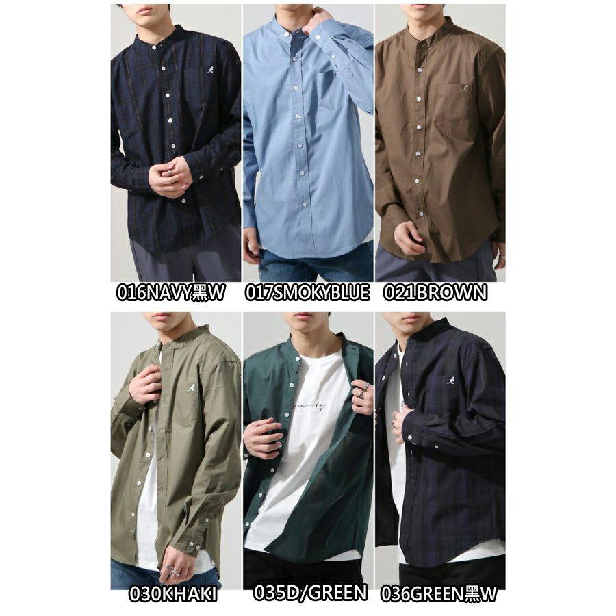 【New】KANGOL 立領襯衫 特注款 2
