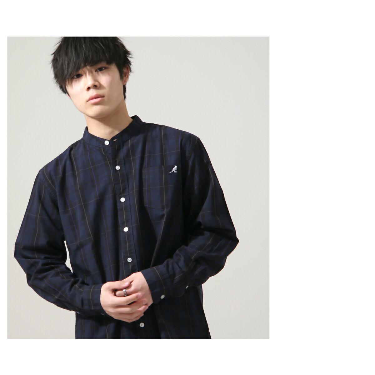 【New】KANGOL 立領襯衫 特注款 4