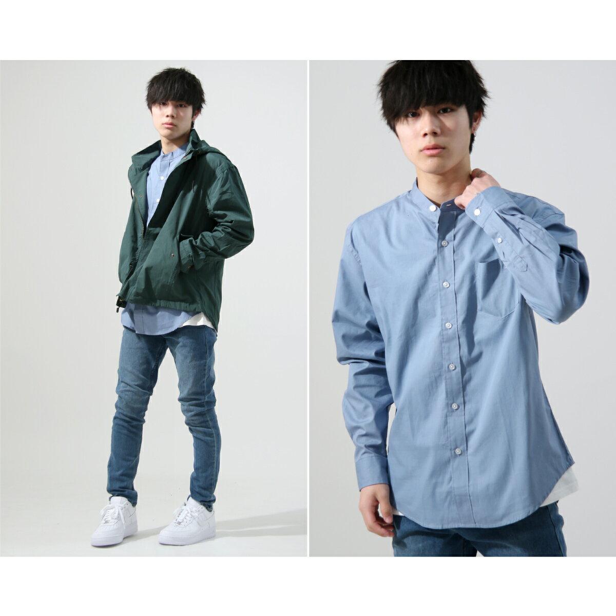 【New】KANGOL 立領襯衫 特注款 5