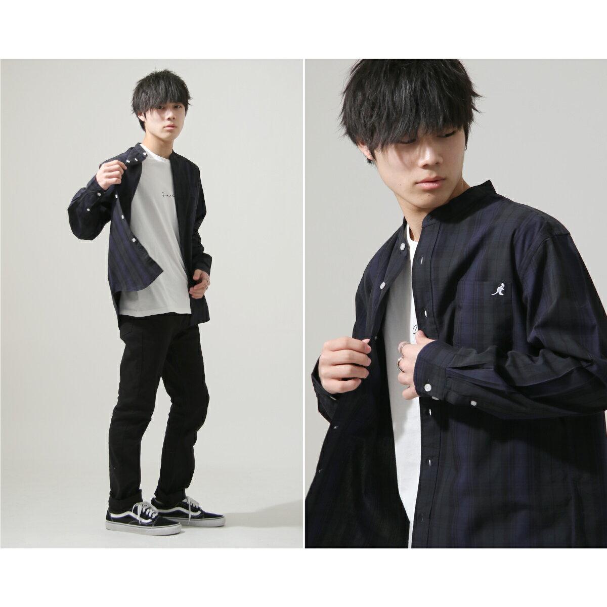 【New】KANGOL 立領襯衫 特注款 6