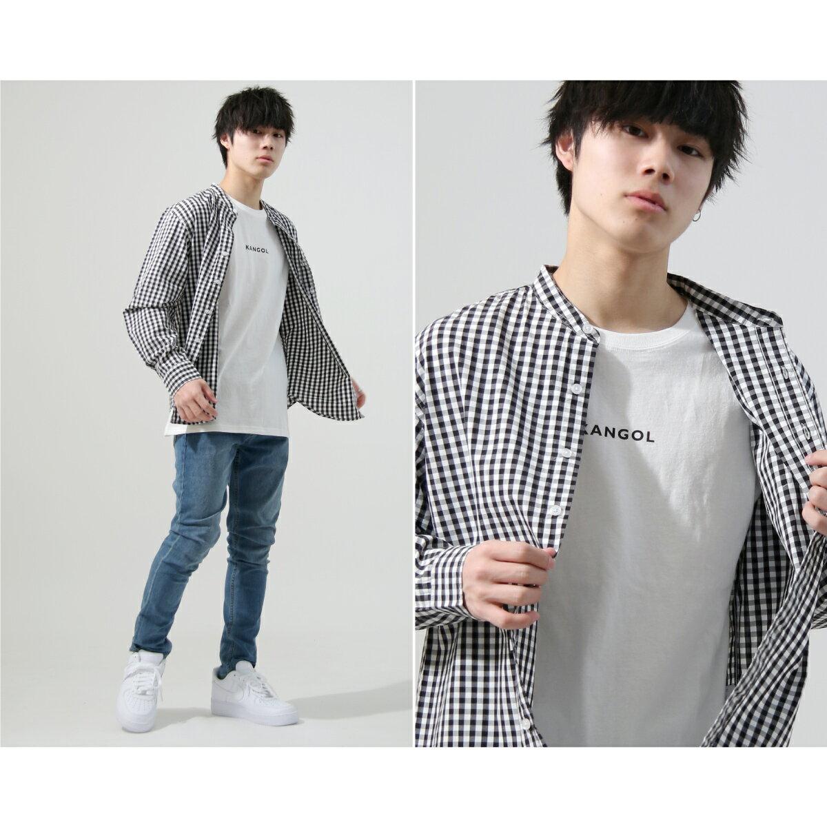 【New】KANGOL 立領襯衫 特注款 7