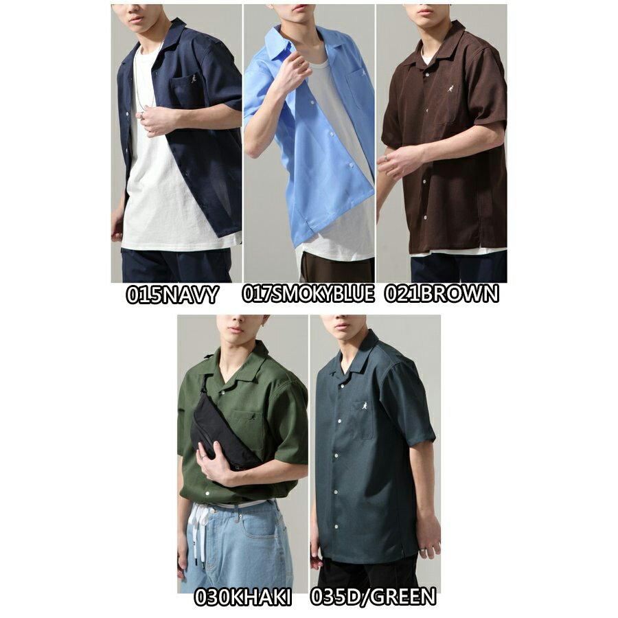 【ZIP】KANGOL短袖開領襯衫 特注款 2