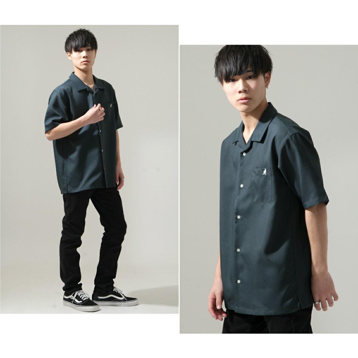 【ZIP】KANGOL短袖開領襯衫 特注款 6