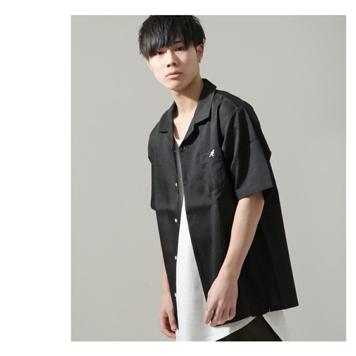 【ZIP】KANGOL短袖開領襯衫 特注款 1