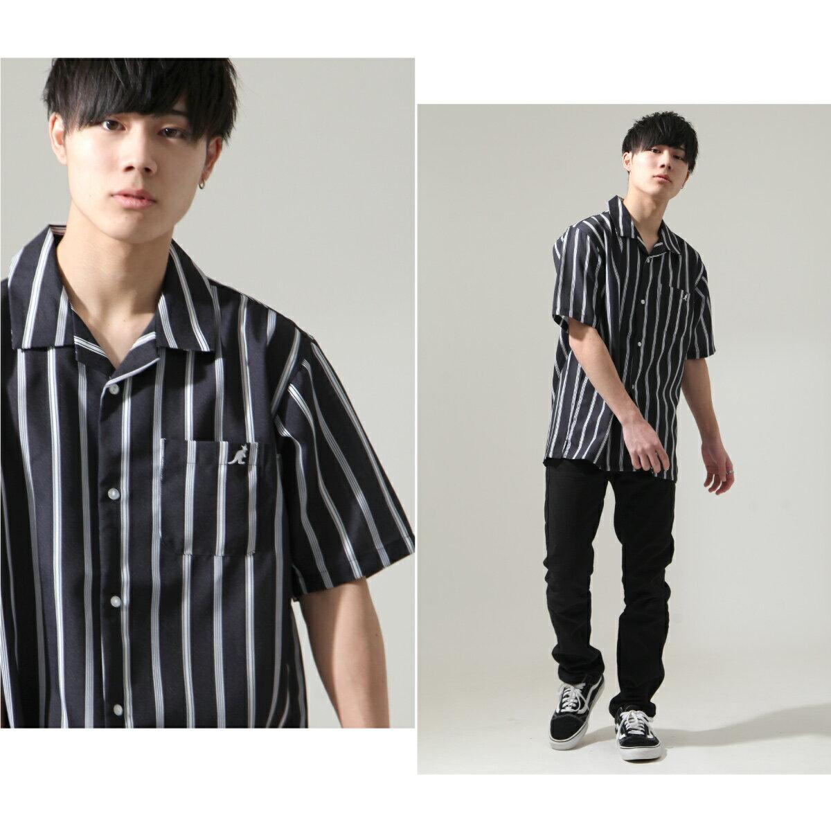 【ZIP】KANGOL短袖開領襯衫 特注款 7