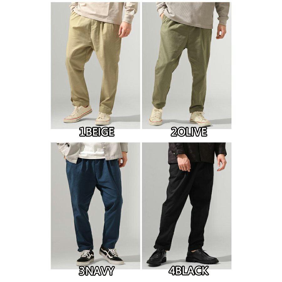 ZIP 棉麻寬褲 寬褲 2