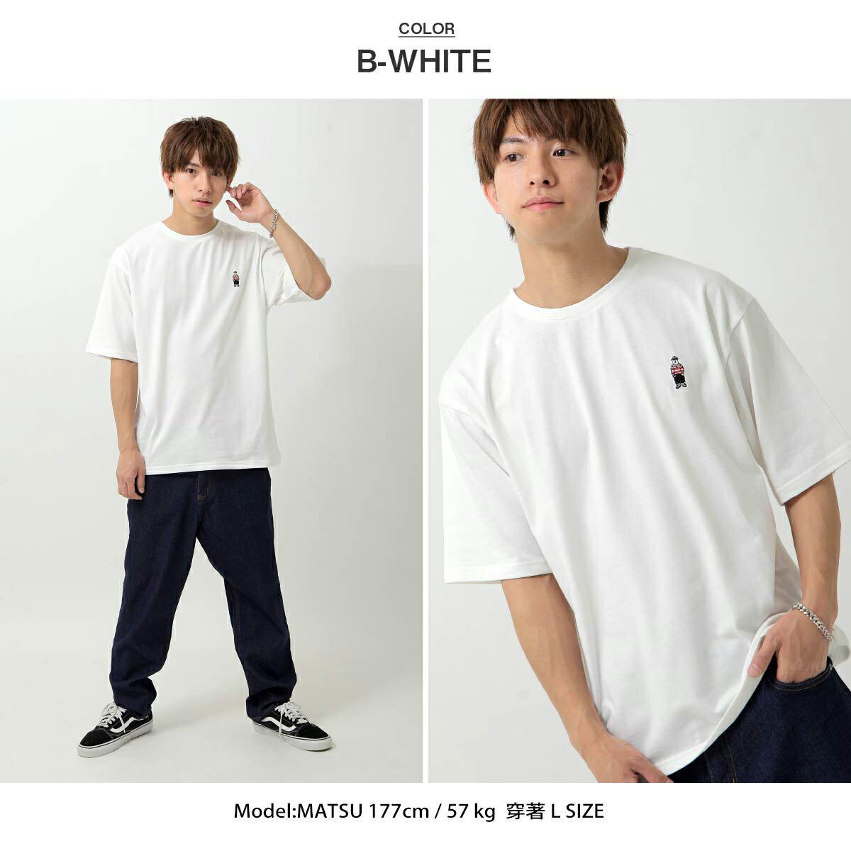【ZIP】白熊刺繡短TEE BENJAMIN 1