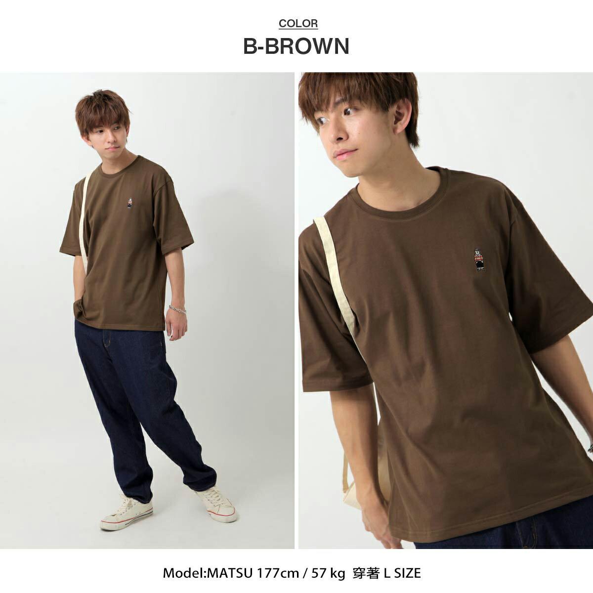 【ZIP】白熊刺繡短TEE BENJAMIN 6