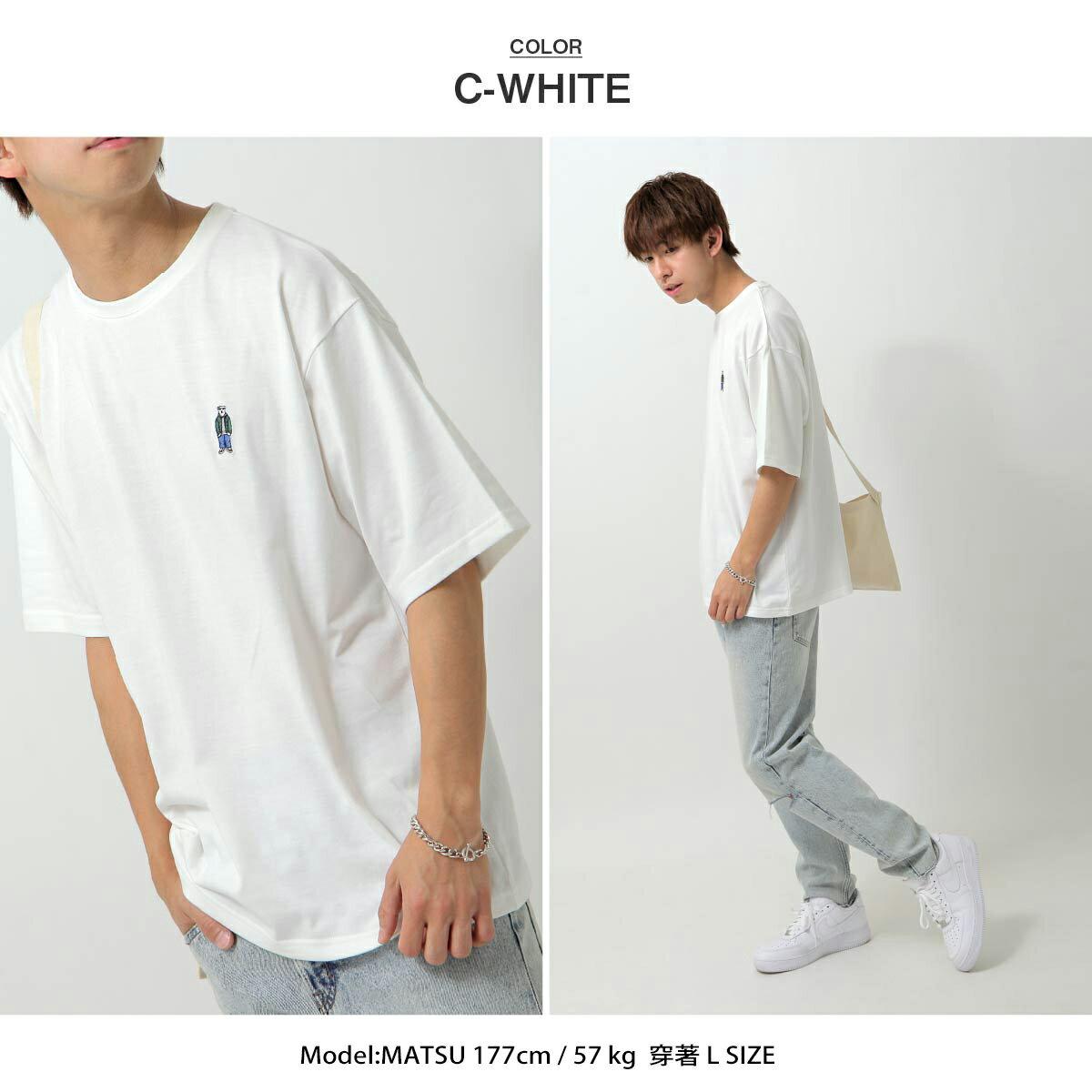 【ZIP】白熊刺繡短TEE BENJAMIN 7