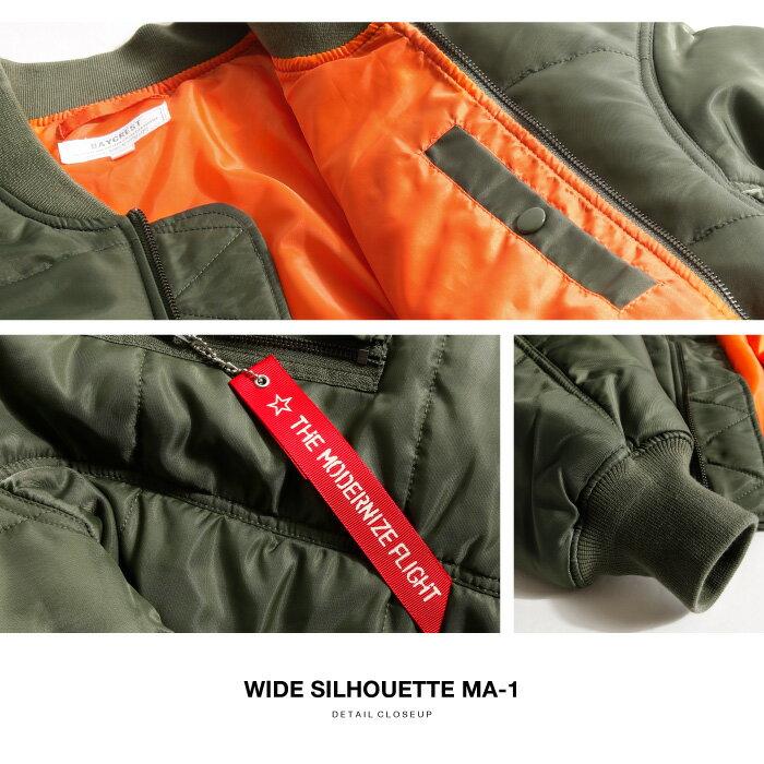 MA-1飛行夾克 Oversize 5