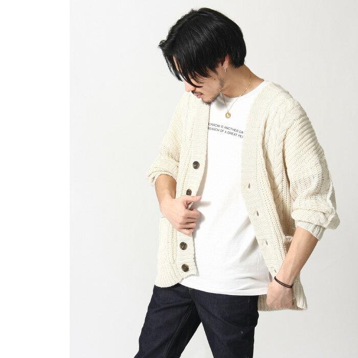 開襟外套 麻花織 6
