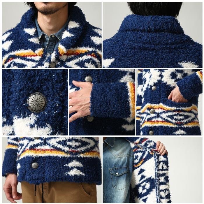 絨毛外套 圍巾領 3