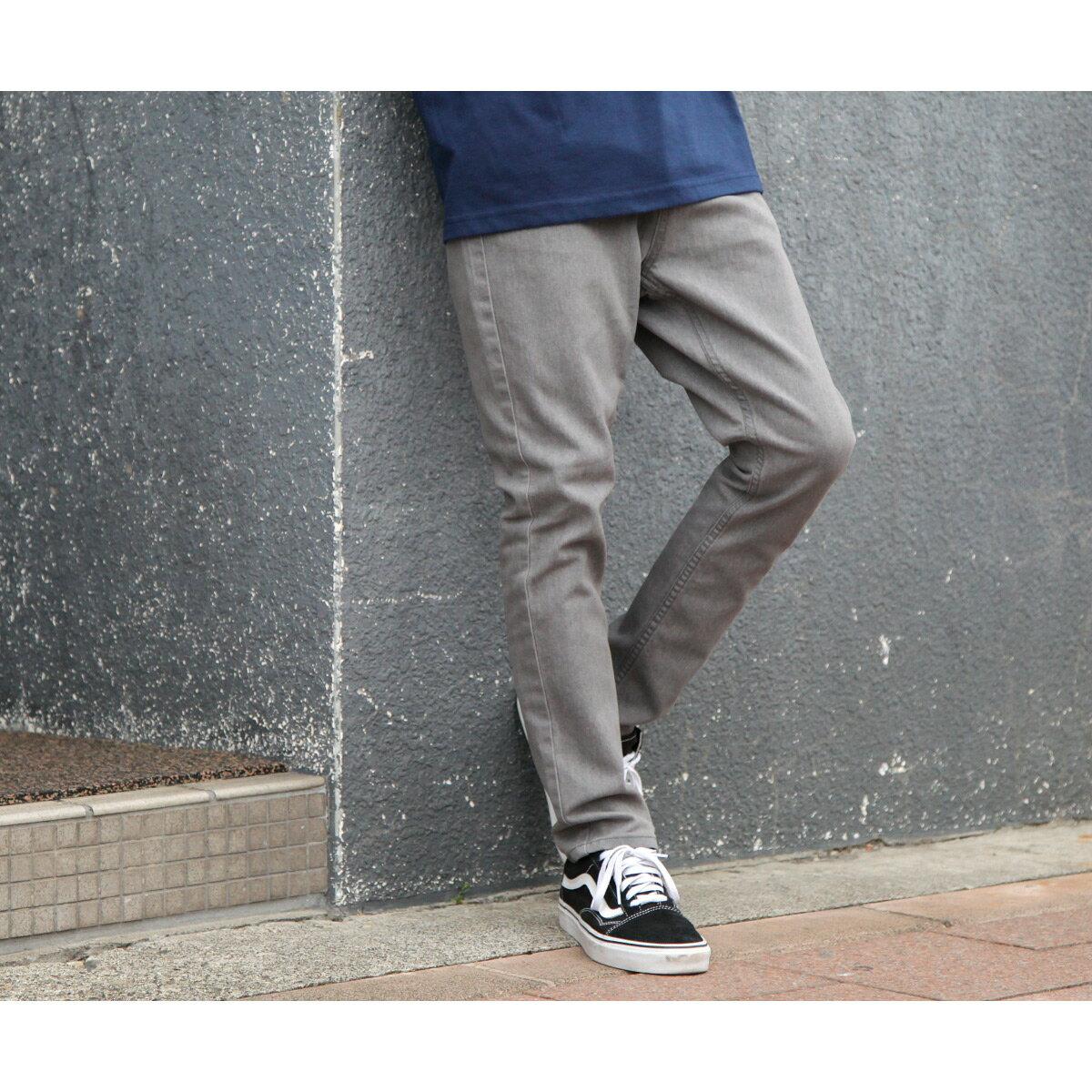 水洗牛仔褲 tapered 8