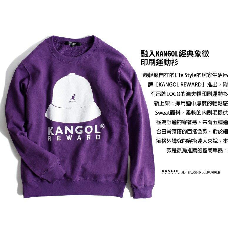 印刷大學Tee 男孩風 KANGOL REWARD 5