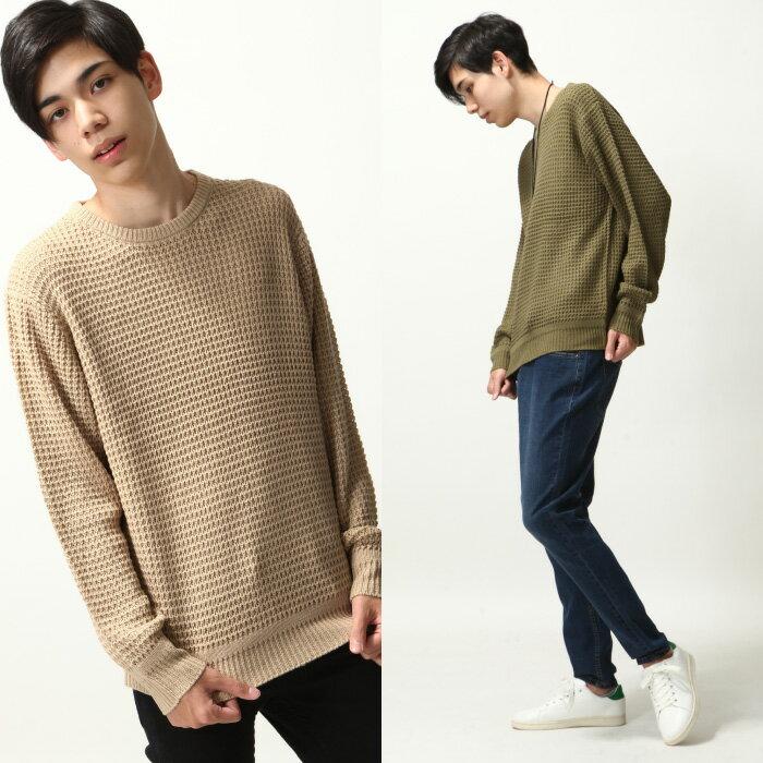 寬版針織衫 7
