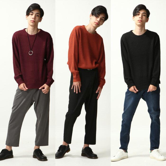 寬版針織衫 8