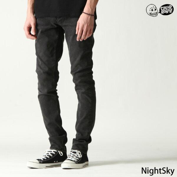 黑色丹寧褲CHEAPMONDAY