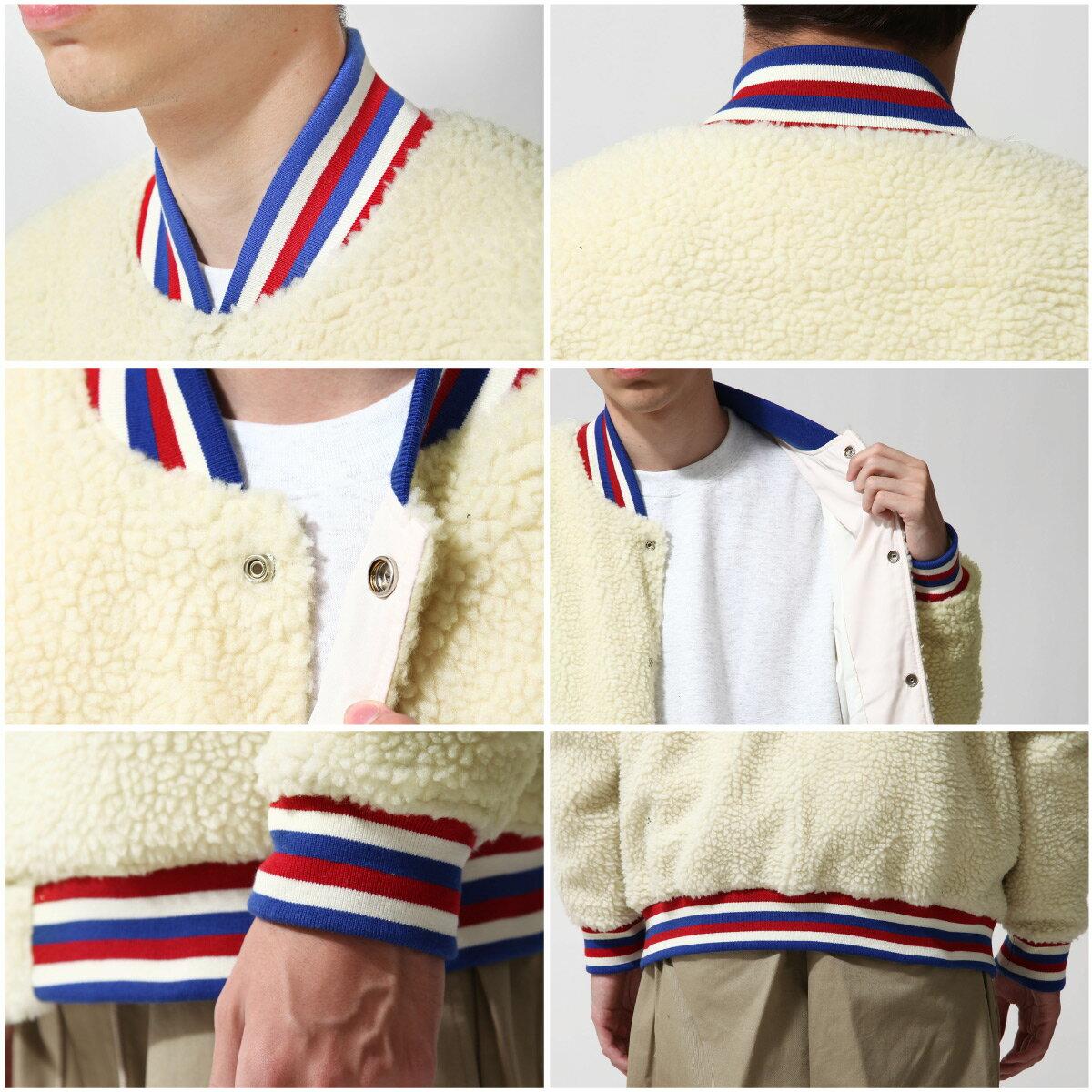 仿羊絨棒球外套 3