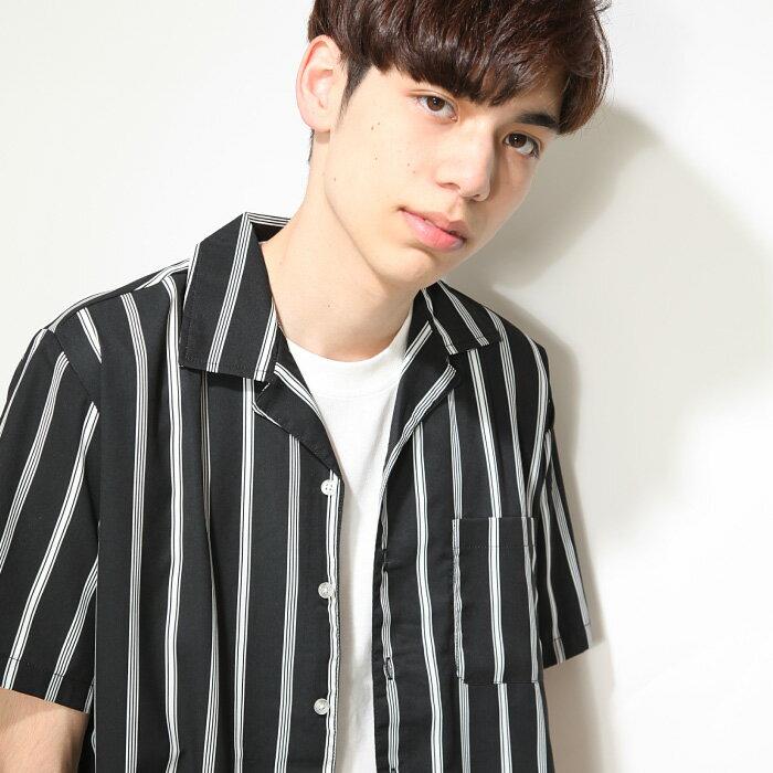 開領襯衫 短袖 1