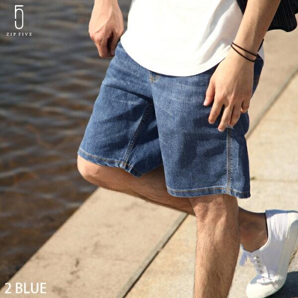 ZIP:丹寧短褲