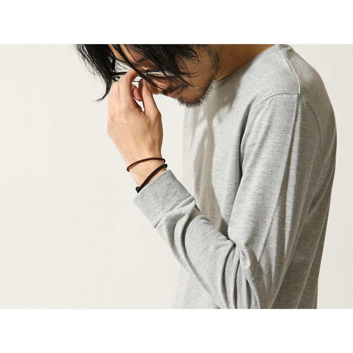 素色T恤 長袖 7