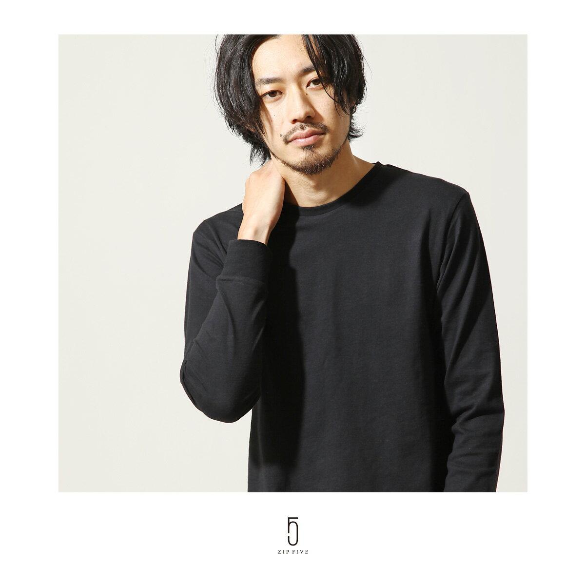素色T恤 長袖 8