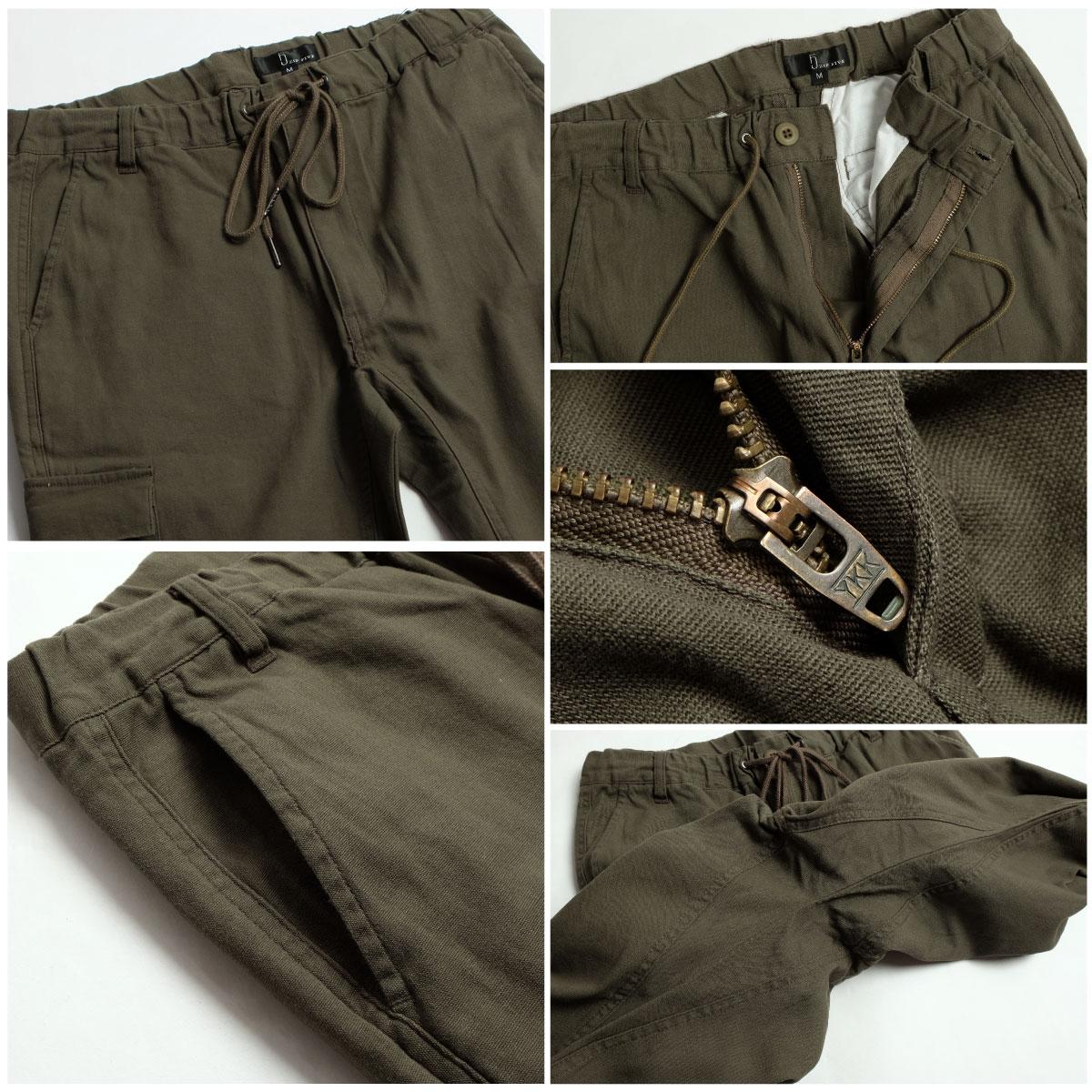 工作褲 錐形褲 3